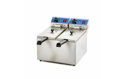 Electric Fryer - 2x6 L (Material to be cleaned)