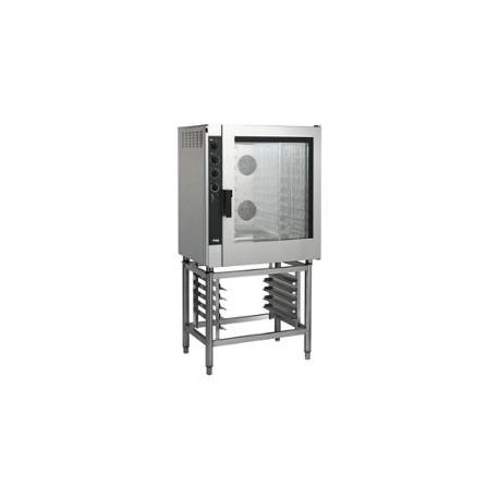Four Electrique sur dessert Inox - 10 Niveaux 380 V