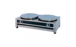 Double Crepe Maker - Ø40 cm - 220V (Material to be cleaned)