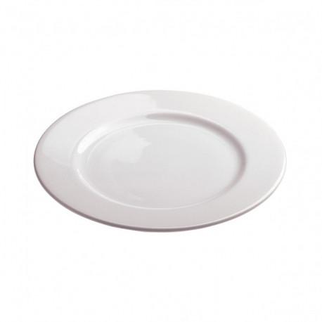 Assiette Porcelaine Blanche Gamme Opéra