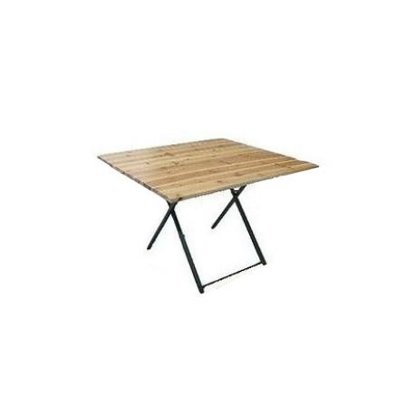 Table Rectangulaire Banquet 110x110x76 BOIS