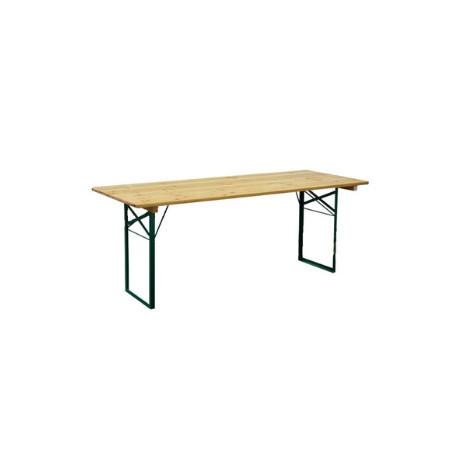 Table Banquet 200x80x76 BOIS