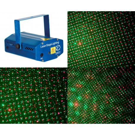 Laser multi point