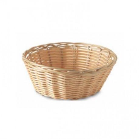 Round Basket in Wicker - Ø 18 cm