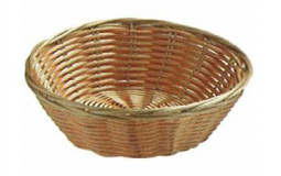 Round basket in wicker - Ø 44 cm