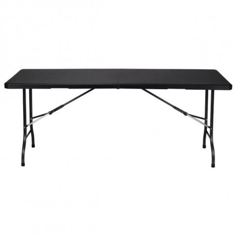 Rectangular table in resin - 200x90 cm
