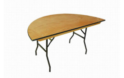 Half-moon Table - 100x90 cm
