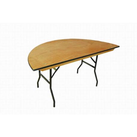 Half-moon Table - 50x90 cm