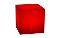 Cube lumineux 40 x 40 - 17 Couleurs, Sans Fil