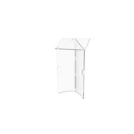 Transparent desk - H112 cm