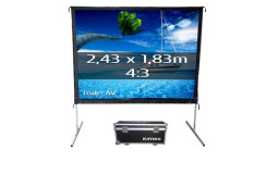 Projection Screen - Front Projection - 243x183 cm - Format 4/3