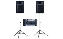 Speaker/ Equalizer 400 W + Mixer + Tripod