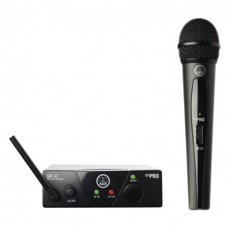 Professional UHF Microphone + Stand - Wireless